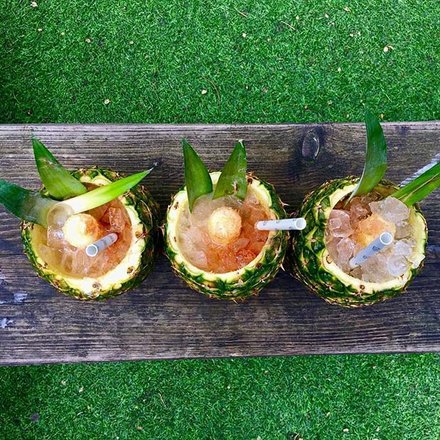 Pineapple Cocktails for Summer Cocktails for a Crowd