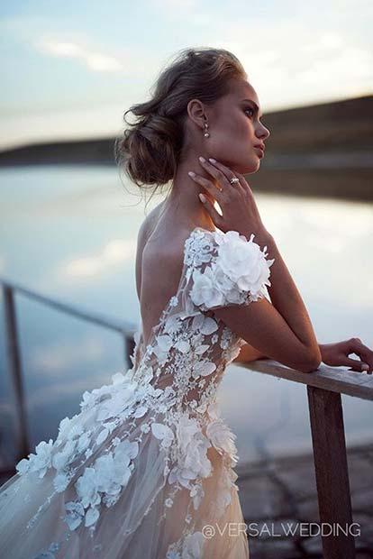 Beautiful Embellished Dress for Summer Wedding Dresses for Brides
