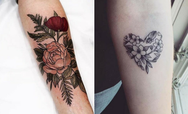 49d88027c484c 23 Beautiful Flower Tattoo Ideas for Women | StayGlam