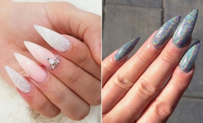 Bold Pointy Nails to Try