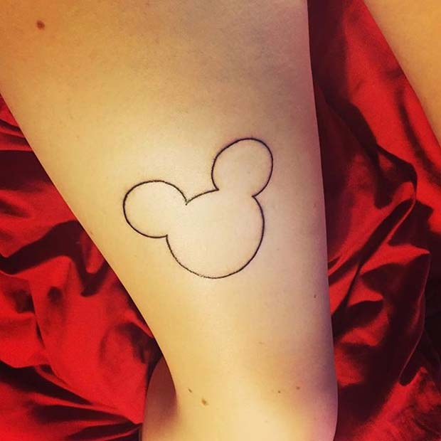 23 Cute And Creative Small Disney Tattoo Ideas Stayglam
