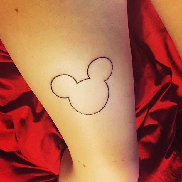 f72f66919 23 Cute and Creative Small Disney Tattoo Ideas | StayGlam