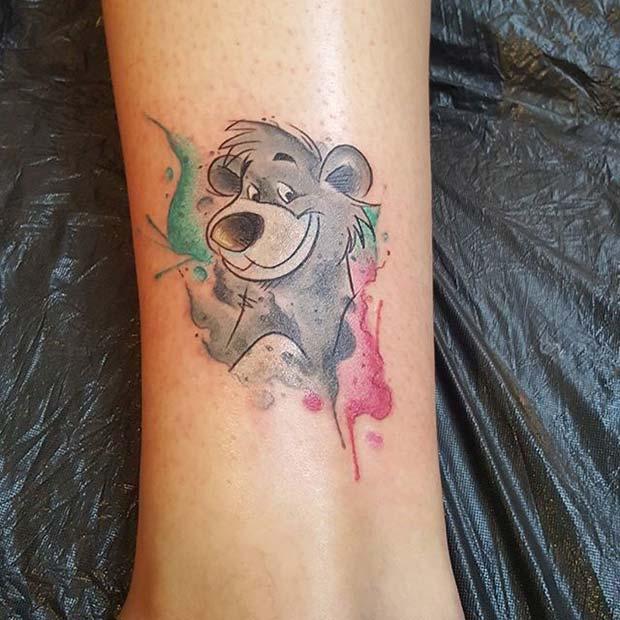 23 Cute and Creative Small Disney Tattoo Ideas | StayGlam