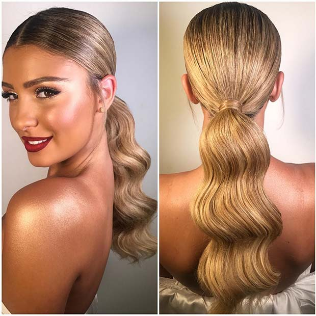 10 Elegant Ponytail  Hairstyles  for Special Occasions