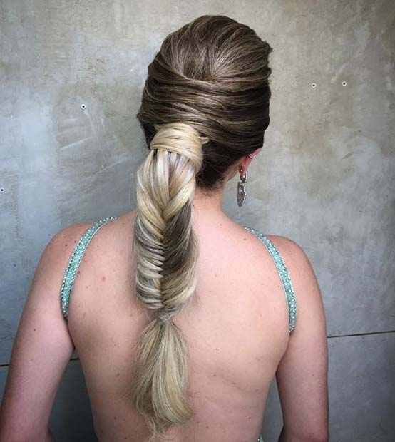 Braided Ponytail for Elegant Ponytail Hairstyles