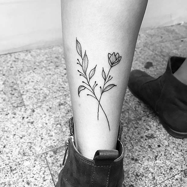 23 Beautiful Flower Tattoo Ideas For Women Page 2 Of 2 Stayglam
