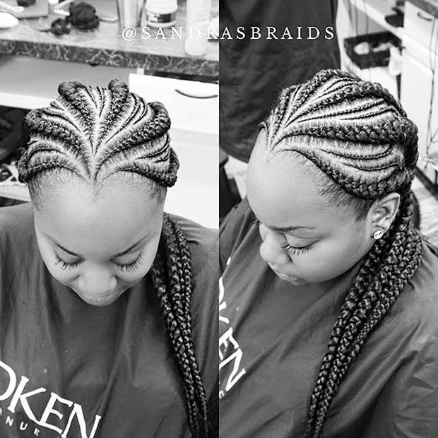 Trendy Cornrows for Summer Protective Styles for Black Women