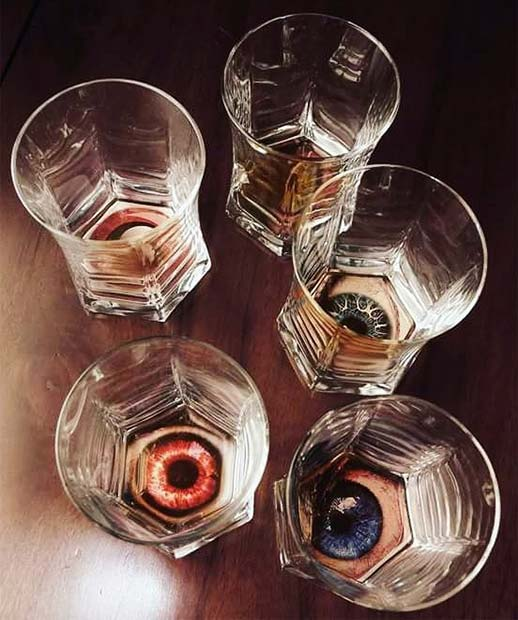 Creepy Eyeball Glasses for DIY Halloween Decor