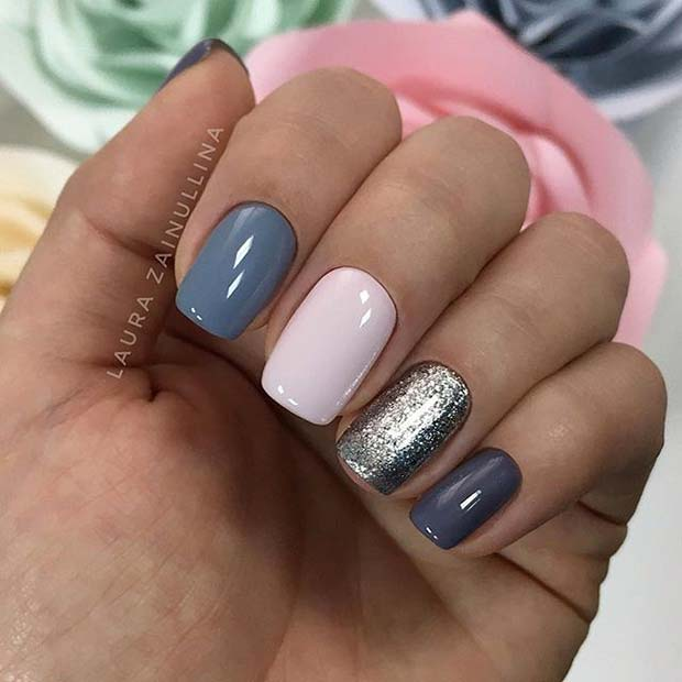 Manicure Designs For Short Nails: 21 Elegant Nail Designs For Short Nails
