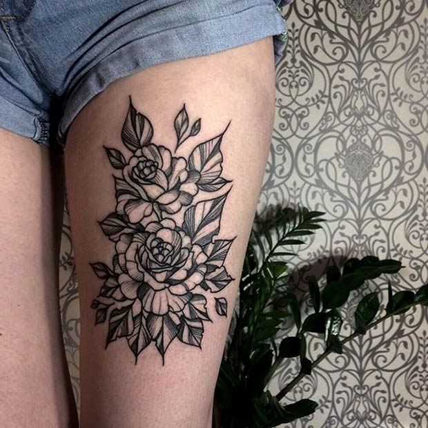 23 Beautiful Flower Tattoo Ideas For Women Stayglam Page 2