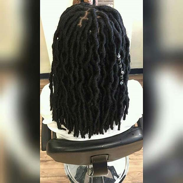 Summer Faux Locs for Summer Protective Styles for Black Women