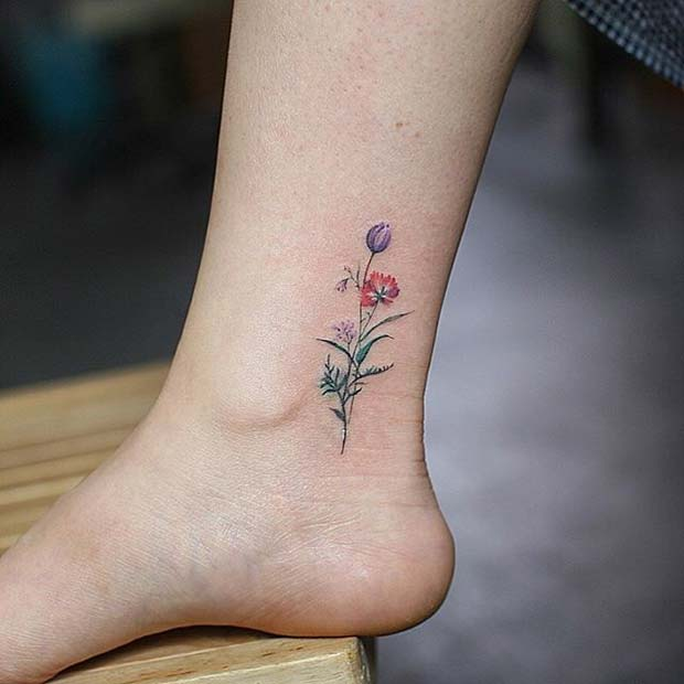 12 More Beautiful Flower Tattoo Ideas For Women