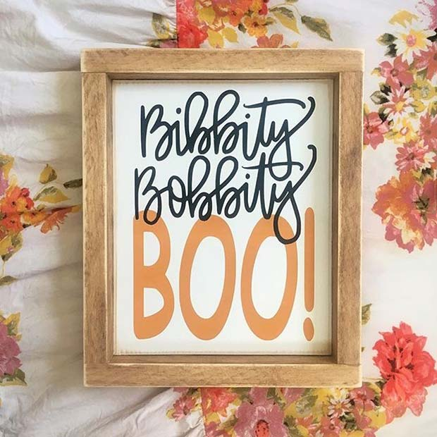 Cute Halloween Posters for DIY Halloween Decor