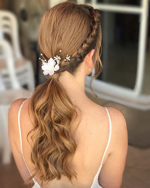 Ponytail for a Special Occasion for Elegant Ponytail Hairstyles