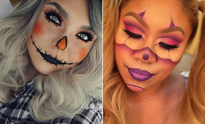 23 cute makeup ideas for halloween 2017 stayglam