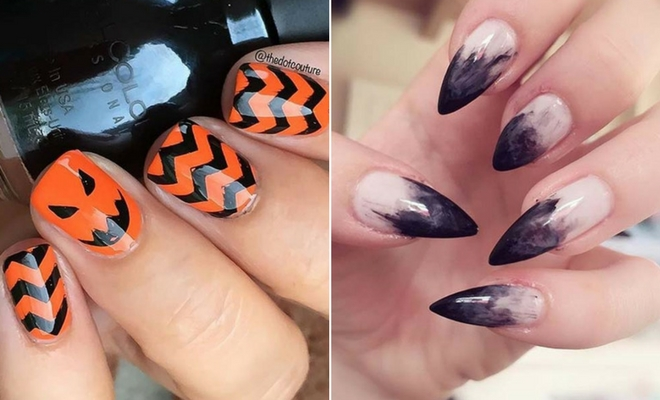 41 Creepy and Creative Halloween Nail Designs | StayGlam