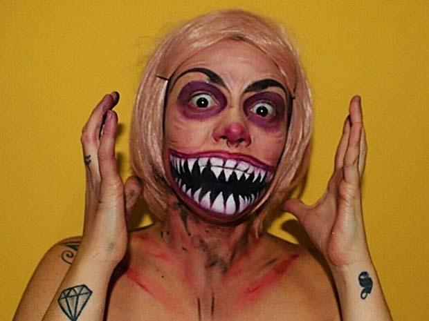 Scary Halloween Makeup for Creative DIY Halloween Makeup Ideas