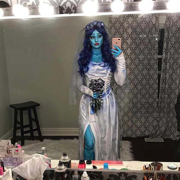 Corpse Bride for Halloween Costume Ideas for Women  sc 1 st  StayGlam & 23 Halloween Costume Ideas for Women | StayGlam