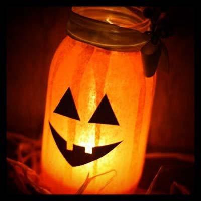 DIY Pumpkin Light for Fun DIY Halloween Party Décor