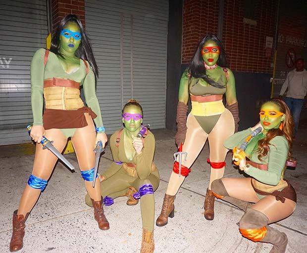 Ninja Turtle Costumes for Halloween Costume Ideas for Women
