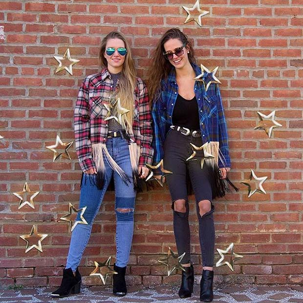 21 Stylish Flannel Outfit Ideas for Fall