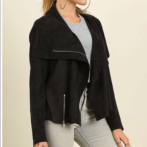 Chic Black Jacket for Cute Fall 2017 Outfit Ideas