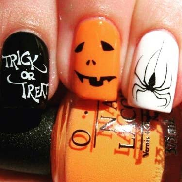 Fun Halloween Nail Designs for Halloween Nail Designs