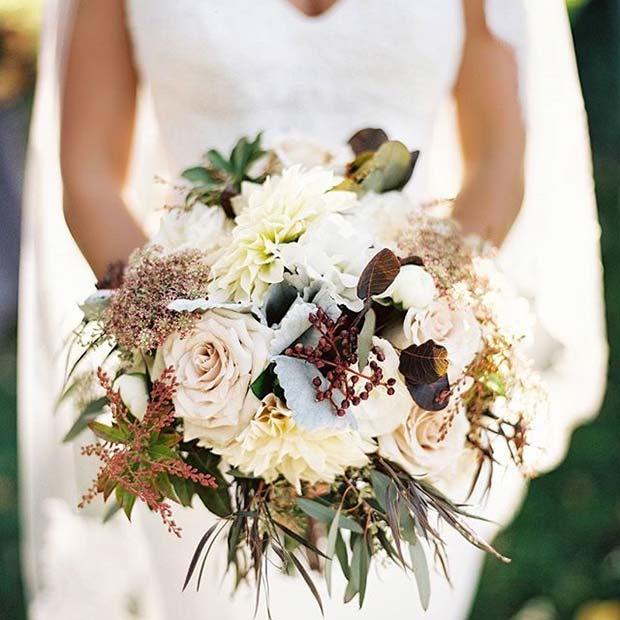 Fall Wedding Boutonniere Ideas: 21 Stunning Fall Wedding Ideas