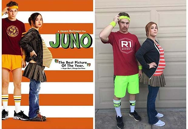 Juno Costume for Halloween Costumes for Pregnant Women
