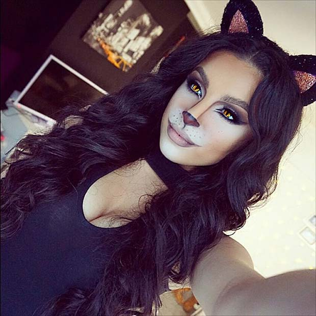 23 Cute Makeup Ideas For Halloween 2018 | StayGlam