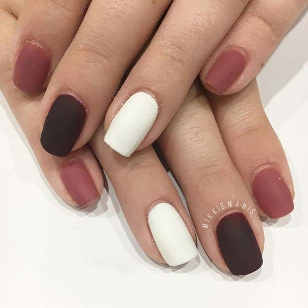 23 Must Have Matte Nail Designs for Fall | StayGlam