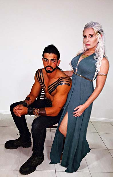 Game of Thrones Couple for Halloween Costume Ideas for Couples