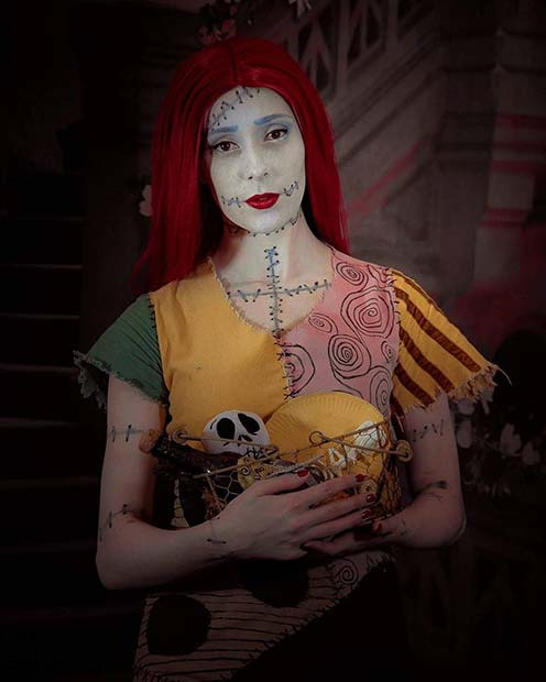 Nightmare Before Christmas Sally Costume for Halloween Costume Ideas for Teens