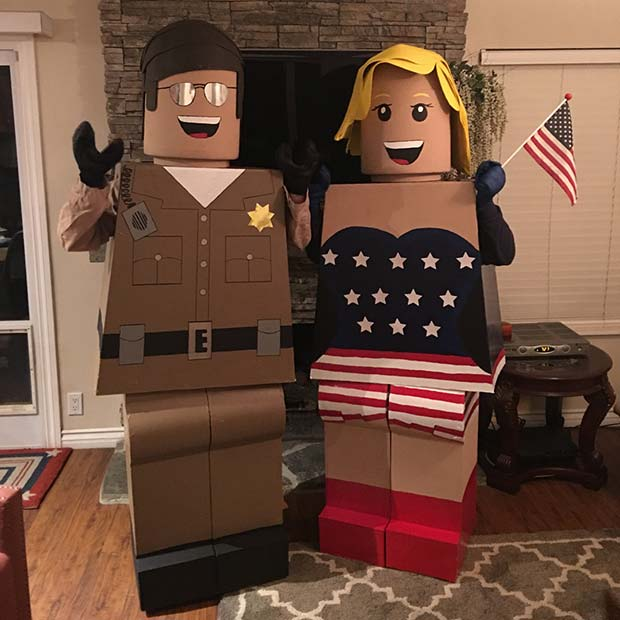 Lego Couple for Halloween Costume Ideas for Couples