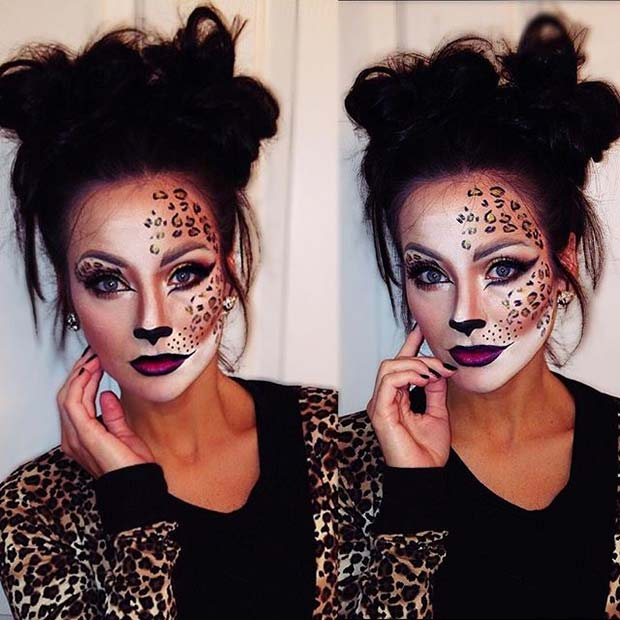 23 Cute Makeup Ideas For Halloween 2017 | Page 2 Of 2 ...