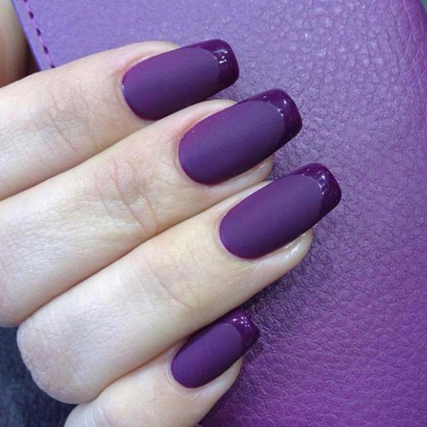 12 Must Have Matte Nail Designs for Fall - crazyforus