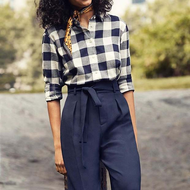 Chic Flannel for Flannel Outfit Ideas for Fall