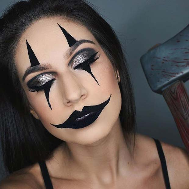 23 Creative and Easy Halloween Makeup Ideas