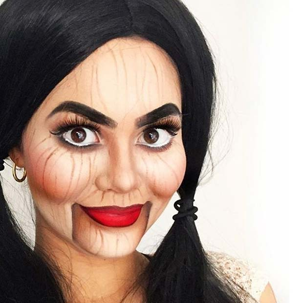 Creepy Dummy for Creepy Halloween Makeup Ideas