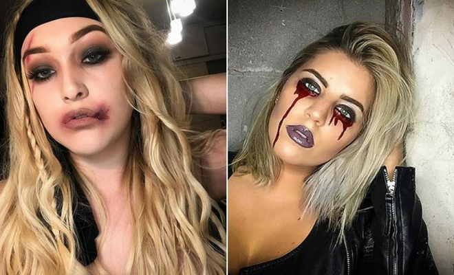 23 Easy, Last,Minute Halloween Makeup Looks