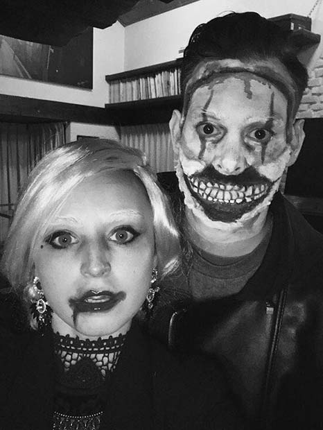 AHS Inspired Couple Costume for Scary Halloween Costume Ideas for Couples