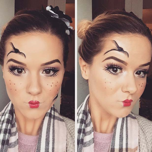 23 pretty halloween makeup ideas � stayglam
