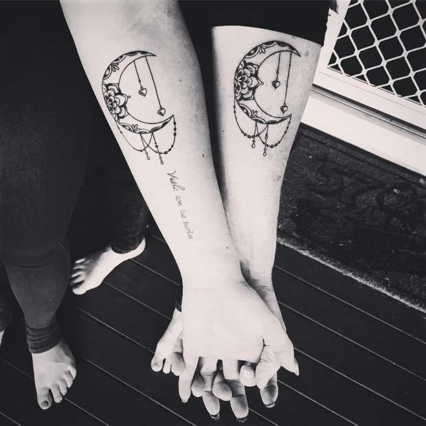 cf1bcb43b 23 Popular Mother Daughter Tattoos | Page 2 of 2 | StayGlam