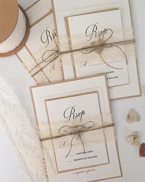 Rustic Wedding Invitations for Rustic Wedding Ideas