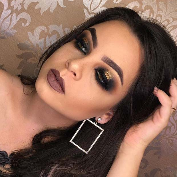 Glam Fall Makeup for Fall Makeup Looks