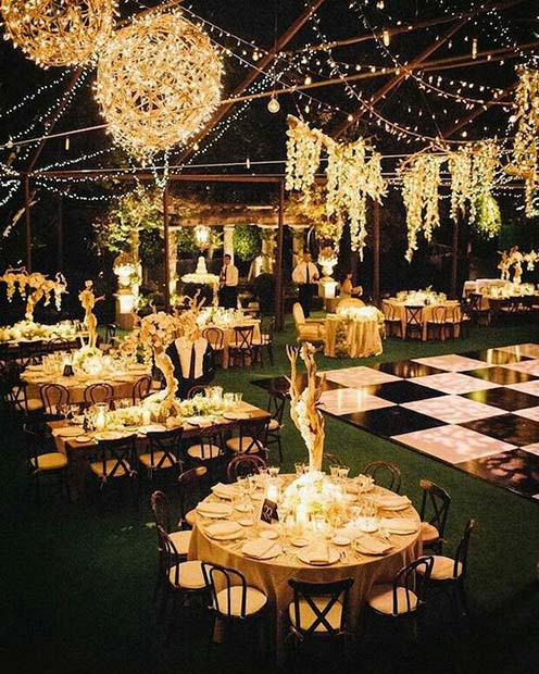 Outdoor Wedding Reception Ideas: 21 Ideas For A Rustic Wedding