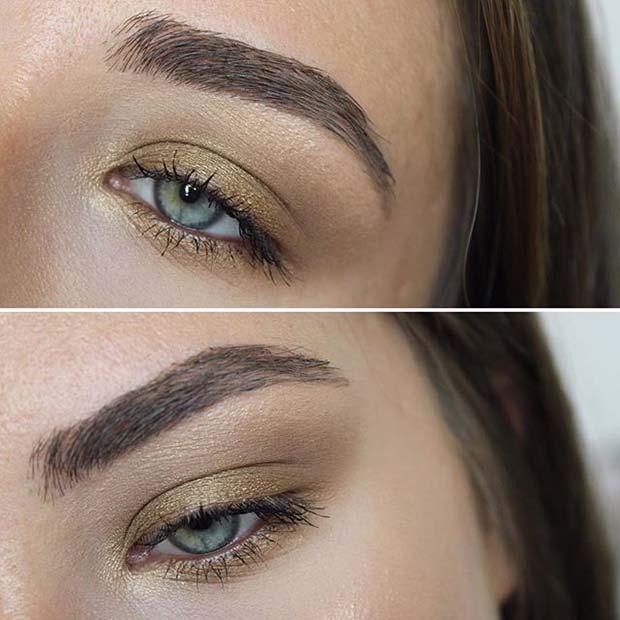 Minimal Earthy Makeup for Fall Makeup Looks