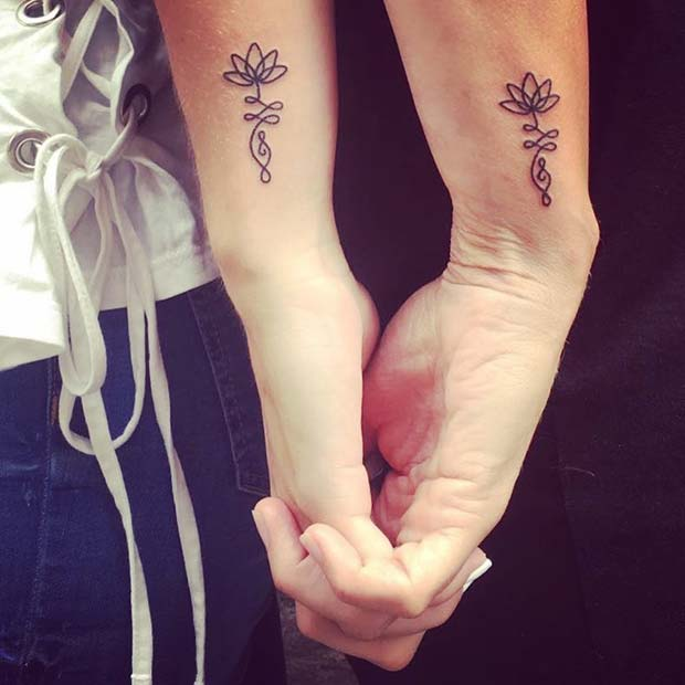 125 Popular Mother Daughter Tattoo Design Ideas: 23 Popular Mother Daughter Tattoos