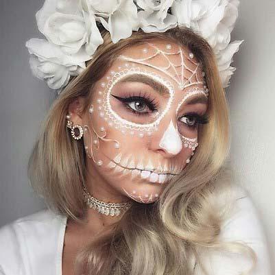 23 pretty halloween makeup ideas stayglam