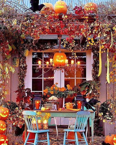 Fall Home Decorating Ideas: 21 Creative Fall Home Decor Ideas